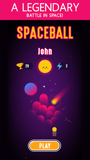 Space Ball - Defend And Score screenshot 4