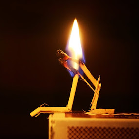 The Burning Desire by Avik Ghosh - Artistic Objects Other Objects