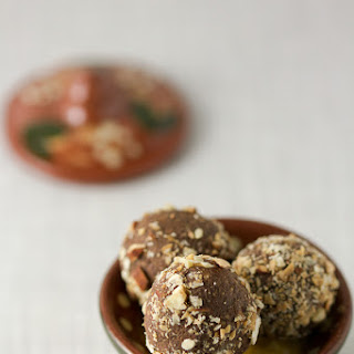 Fig Truffles With Rum.