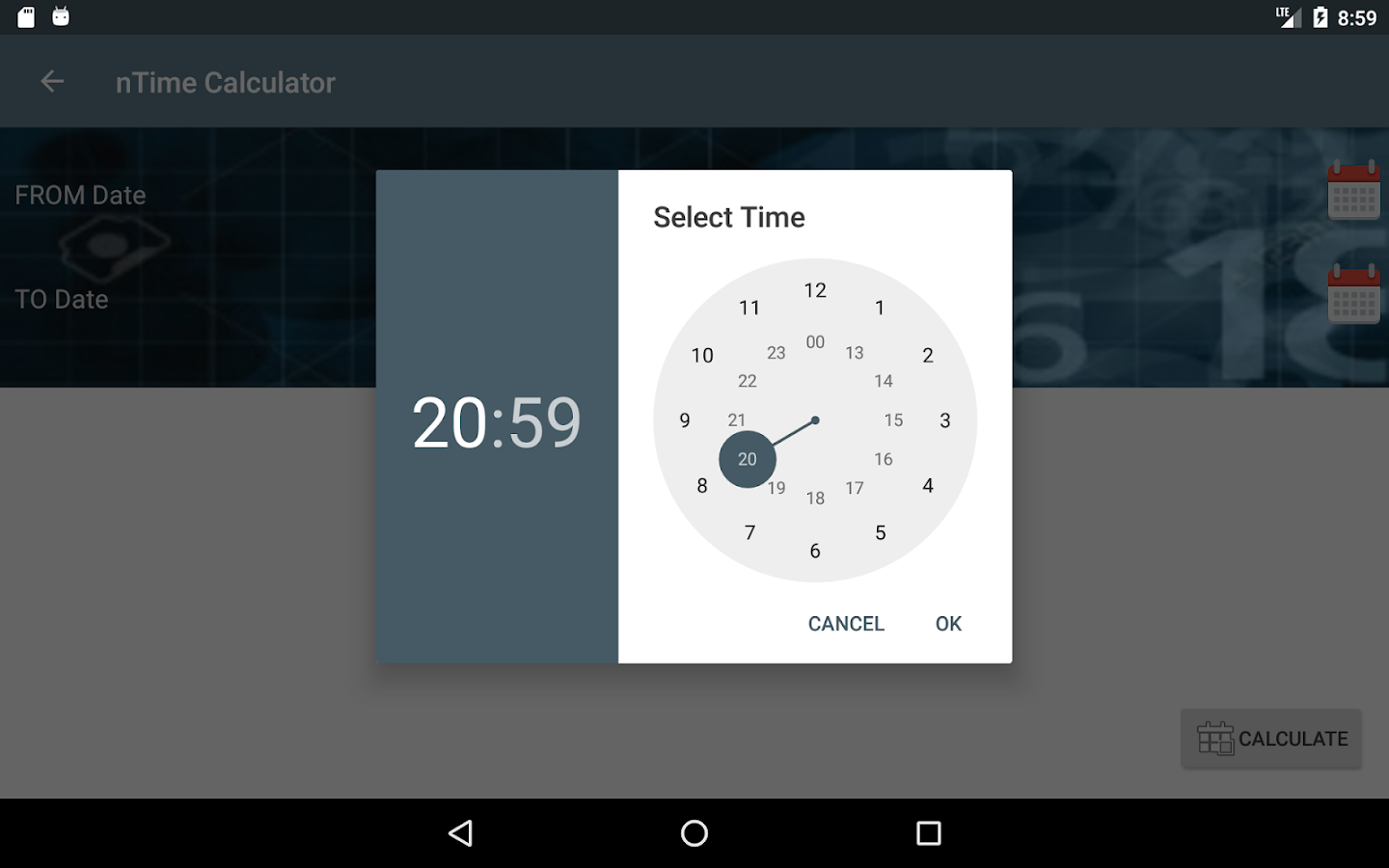 nTime- screenshot