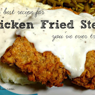 Chicken Fried Steak (Recipe)