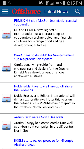 Offshore Oil Gas News