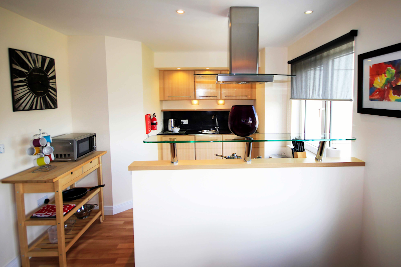 Fully equipped kitchen at Citygate