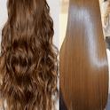 طرق فرد الشعر بالنشا icon