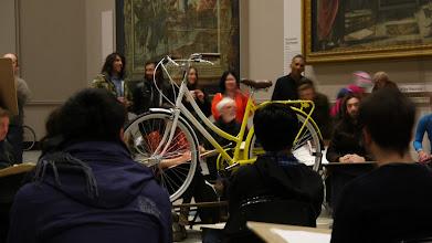 "Photo: Bobbin Bicycles Drawing Studio @ V&A Late ""Eat, Ride, Sleep, Repeat"""