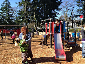 Photo: 2012 egg hunt and park playground and spray - 21