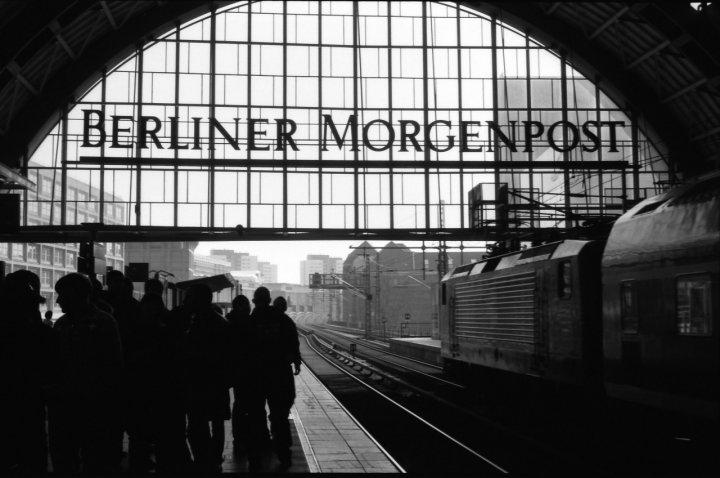 Berlino in metro di ilmaia