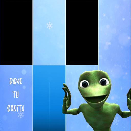 dame tu cosita piano - green alien