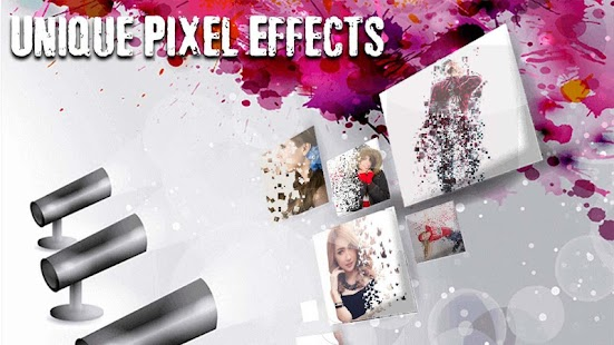 Dispersion effect : Pixel Effect Photo Editor - náhled