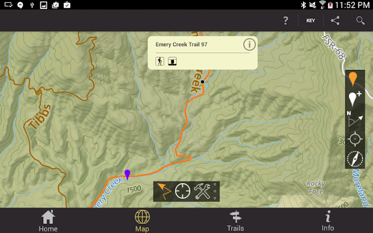 android Conasauga Ranger District Screenshot 9