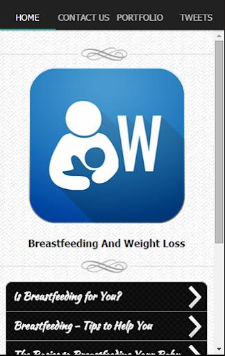 母乳喂养和减肥