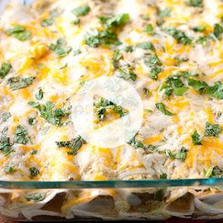 How to Make Our Salsa Verde Chicken Enchiladas Recipe