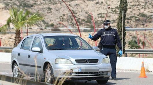 Control de la Policía Local.