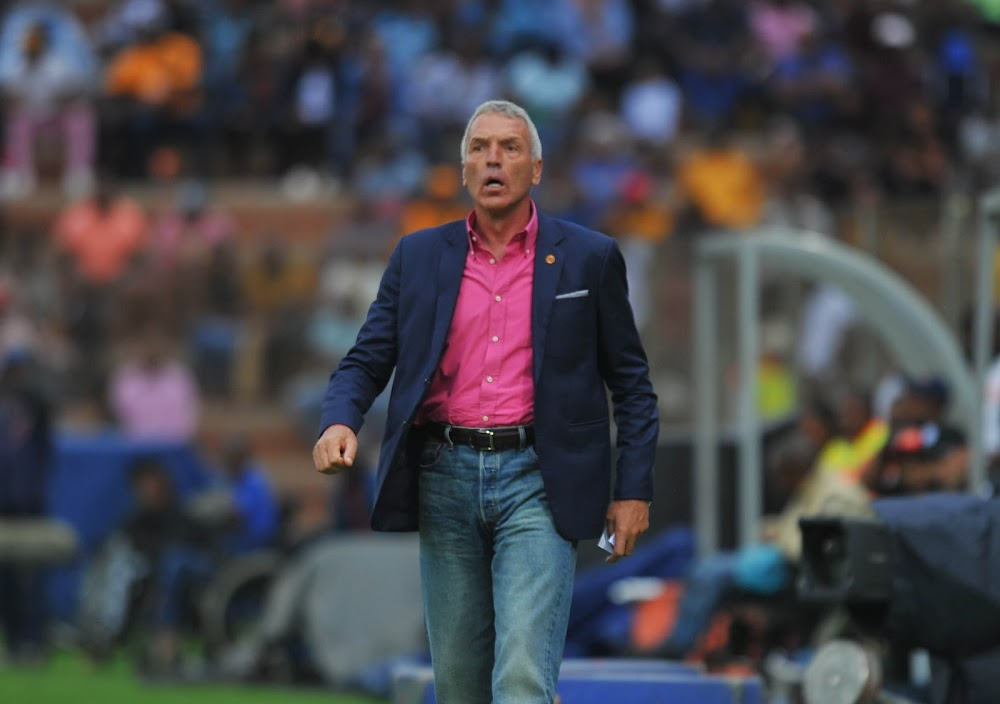 Chiefs coach Middendorp admits to increasing derby pressure after Highlands defeat - SowetanLIVE