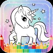 صفحات تلوين يونيكورن مجانية للأطفال حكايات وأساطير أغسطس 2020