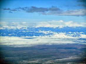 Photo: Bighorn mountains approaching