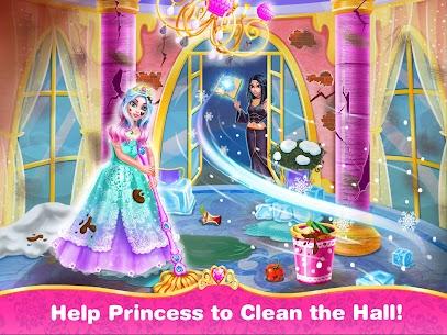 الأميرة تحب التنظيف – لعبة منزل الفتاة اللعب 1