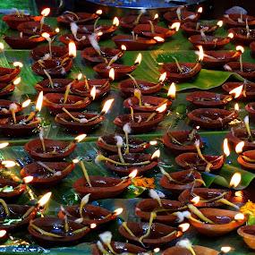 Divine offering... by Gautam Tarafder - Abstract Fire & Fireworks (  )