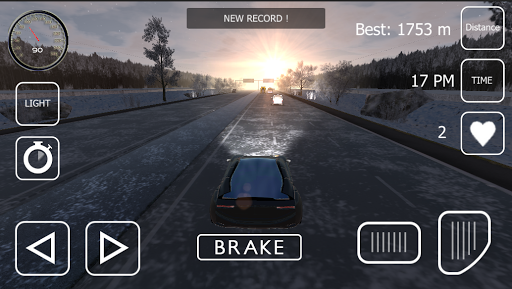Snow Traffic Racing