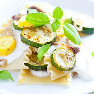 20 Minute Zucchini Lasagna Recipe with Lemon Ricotta.