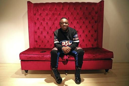 Shimza says he is also on a journey to discard his mkhaba . / Thulani Mbele