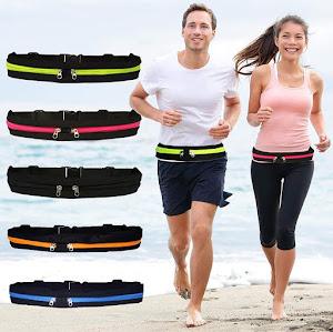 Curea elastica sport pentru alergat, reglabila
