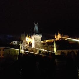 Charles Bridge at night by Luboš Zámiš - Uncategorized All Uncategorized
