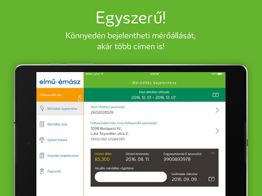 Elmű-Émász EnergiApp screenshot 12