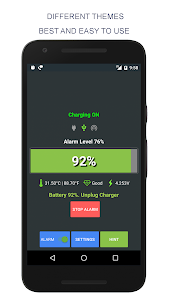 Battery Full Alarm and Battery Low Alarm - No Ads 44 (Paid)