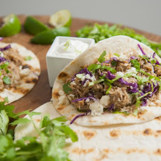Pineapple Pulled Pork Tacos.