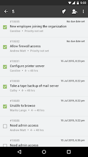 ServiceDesk Plus SaaS HelpDesk - náhled