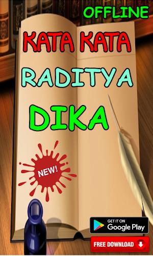 Download Kata Kata Raditya Dika Apk Latest Version App By