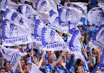 🎥 De sfeer zit goed bij KV Mechelen en een fantastische tifo van 20.000 Buffalo's