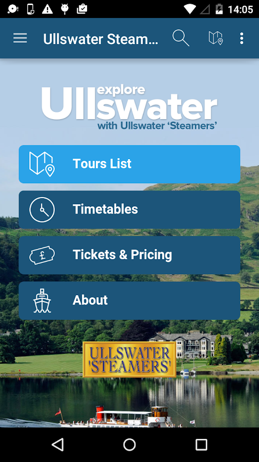 Ullswater Steamers- screenshot