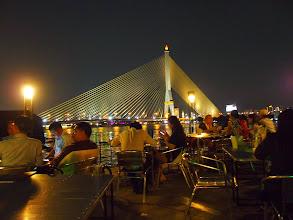 Photo: Terrasse du restaurant In Love, fleuve Chao Praya - Bangkok