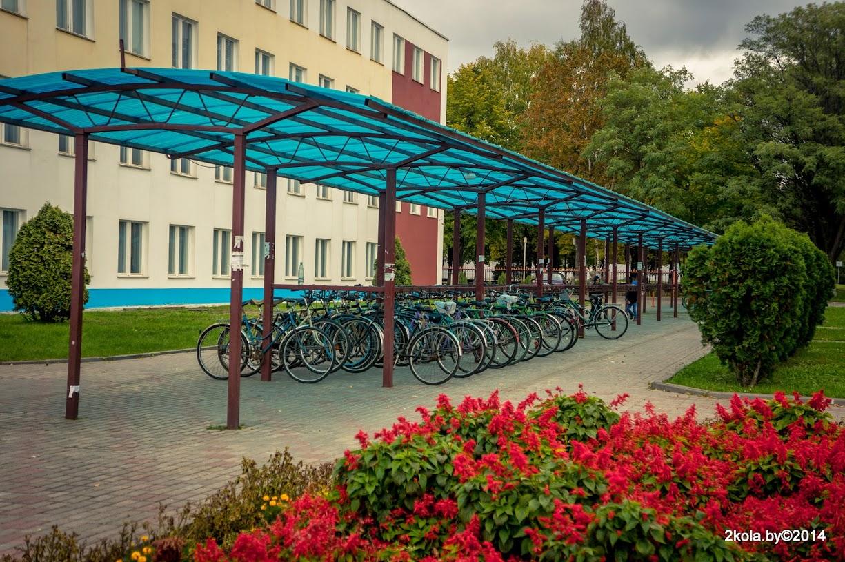Велостоянка завода Неман