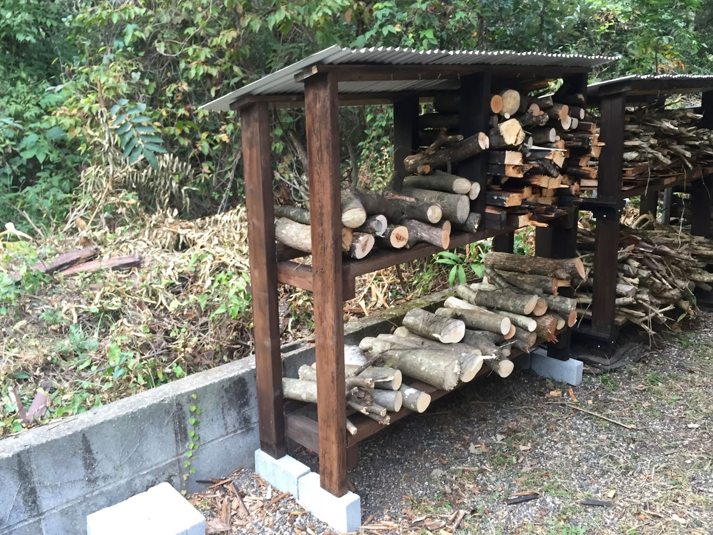 Firewood Shelf