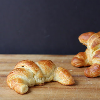 Croissants with Morel Duxelles