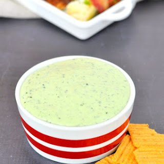 Jalapeno Kale Dip for Cinco de Mayo