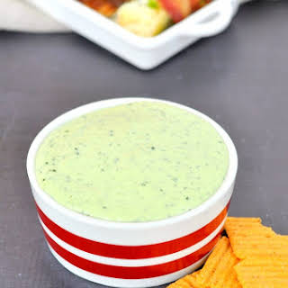 Jalapeno Kale Dip for Cinco de Mayo.
