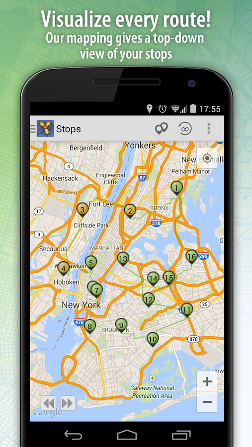 Route4Me Route Planner - screenshot