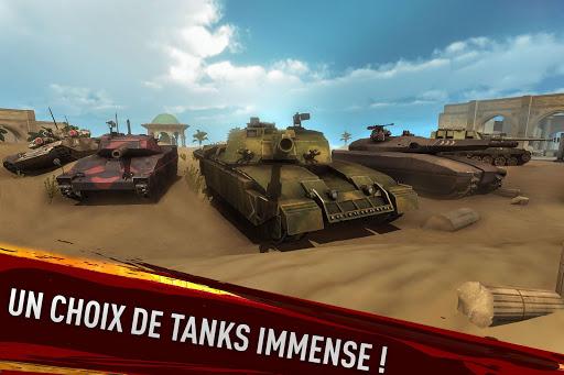 War of Tanks: PvP Blitz  captures d'écran 6