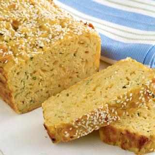 Zucchini, Cheese and Corn Bread.
