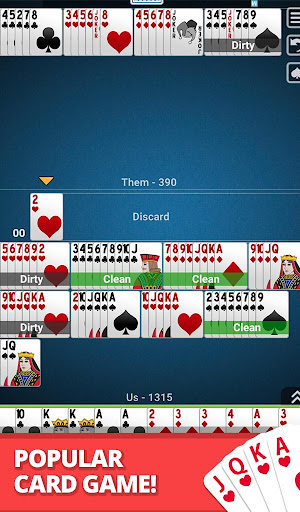 Buraco: Free Canasta Cards  gameplay | by HackJr.Pw 19
