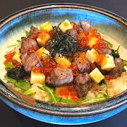 AAA Rare Beef Chirashi Bowl