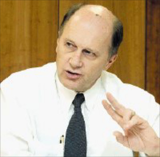 CONSIDERING OPTIONS: Rick kreato, Mittal Steel south Africa's chief executive officer. Pic. Tyrone Arthur. 18/09/06. ©