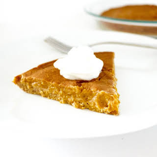 Low-Fat Pumpkin Pie (Gluten-Free, Sugar-Free, Low-Carb!).