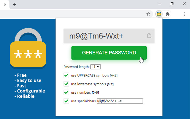 P$$w0RD_GnRT0R — Password Generator