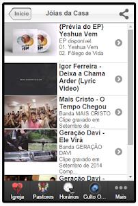 IEV - Igreja Evangélica Vida screenshot 10
