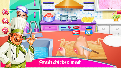 Cooking Chicken Wings- Cooking Diary- Star Chef 1.0 screenshots 6